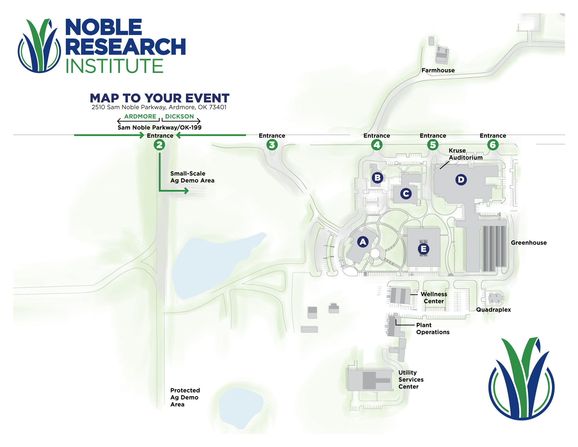 Small-Scale Ag Demo Area Map