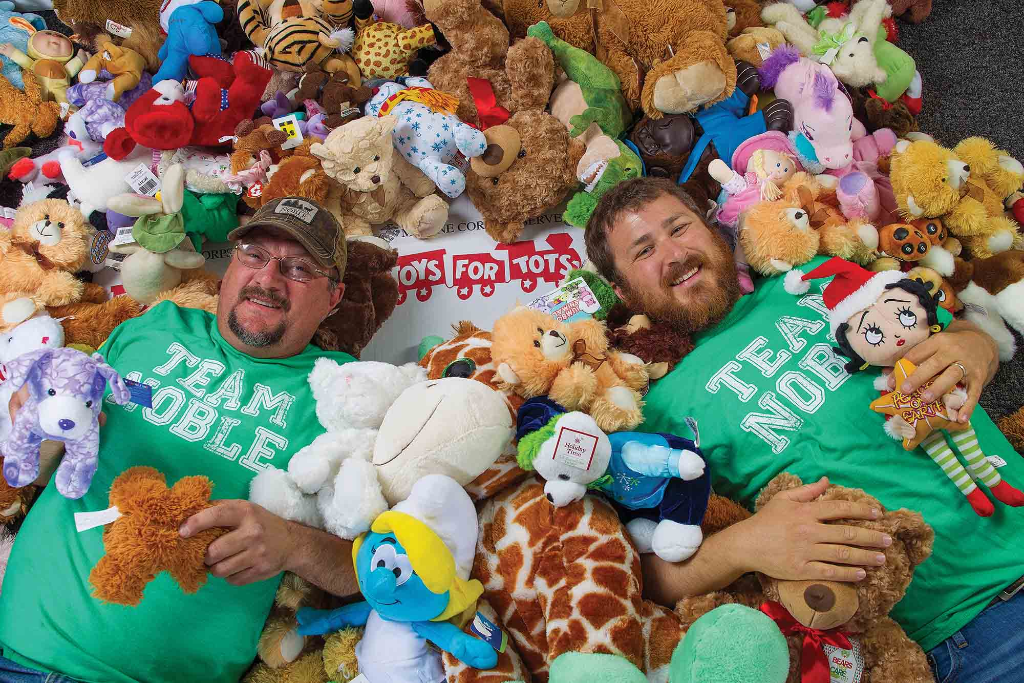 Toys For Tots Community : Noble in the community