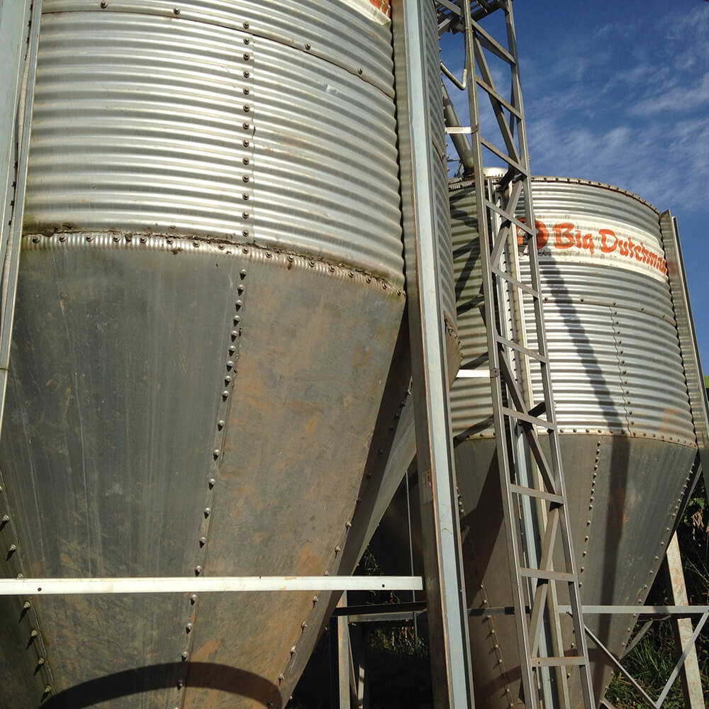 silo incorrectly installed