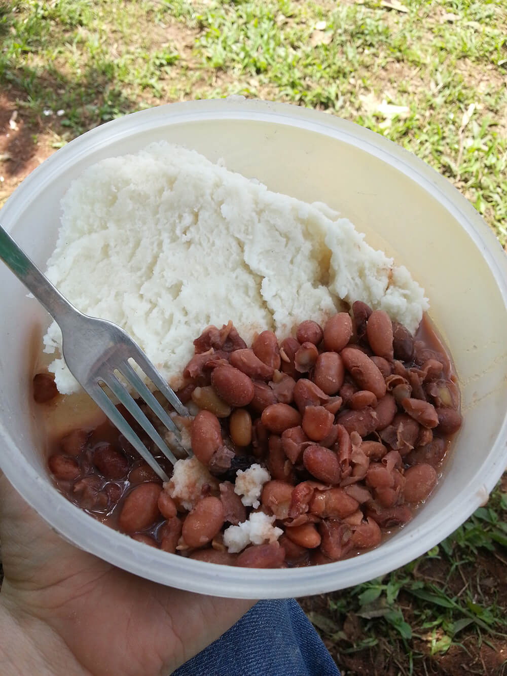 posho and beans
