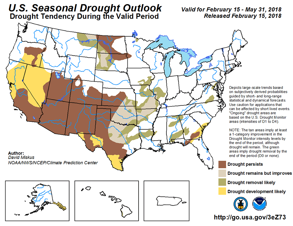 Drought Map from https://www.mesonet.org