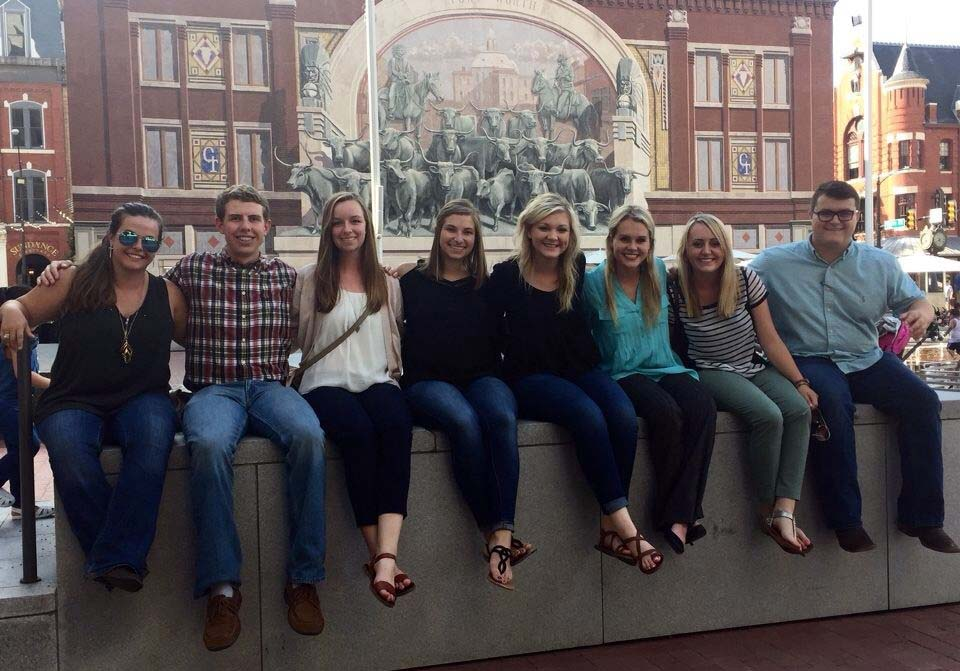 2017 Lloyd Noble Scholars in Agriculture in Ft. Worth