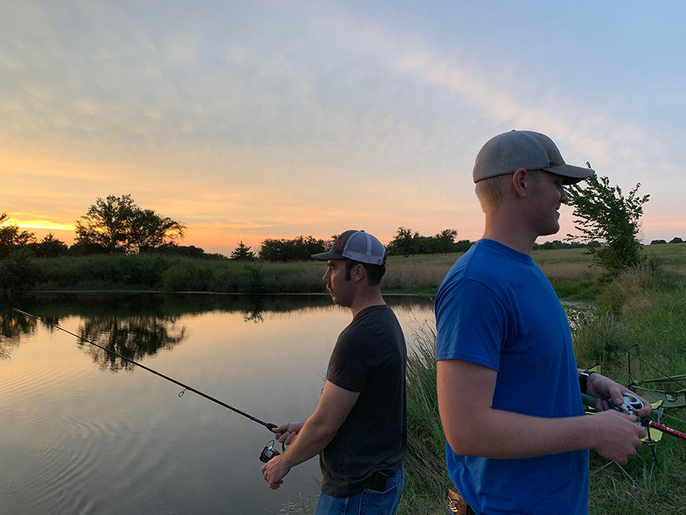 fishing noble ponds