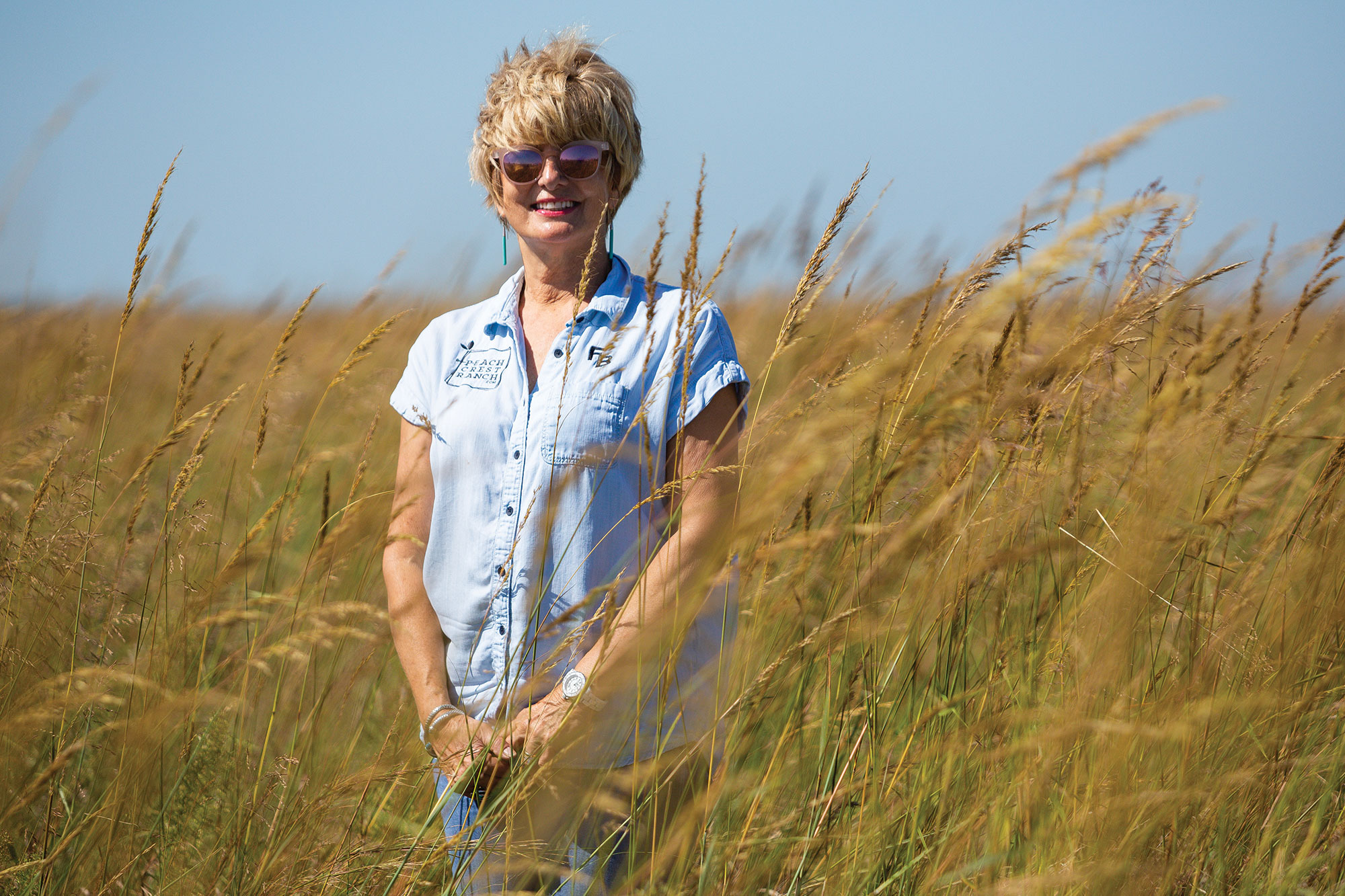 Susan Bergen focuses on building soil health and improving the land on her ranch in Sulphur, Oklahoma.