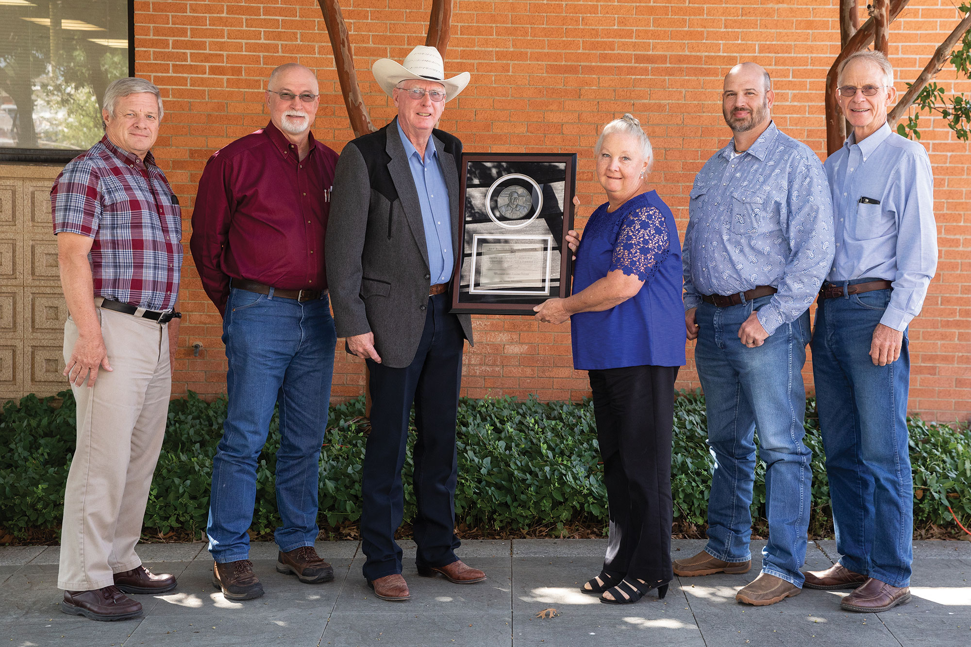 William and Karen Payne were recognized as the 2019 Leonard Wyatt Memorial Outstanding Cooperator Award recipients by Noble Research Institute.