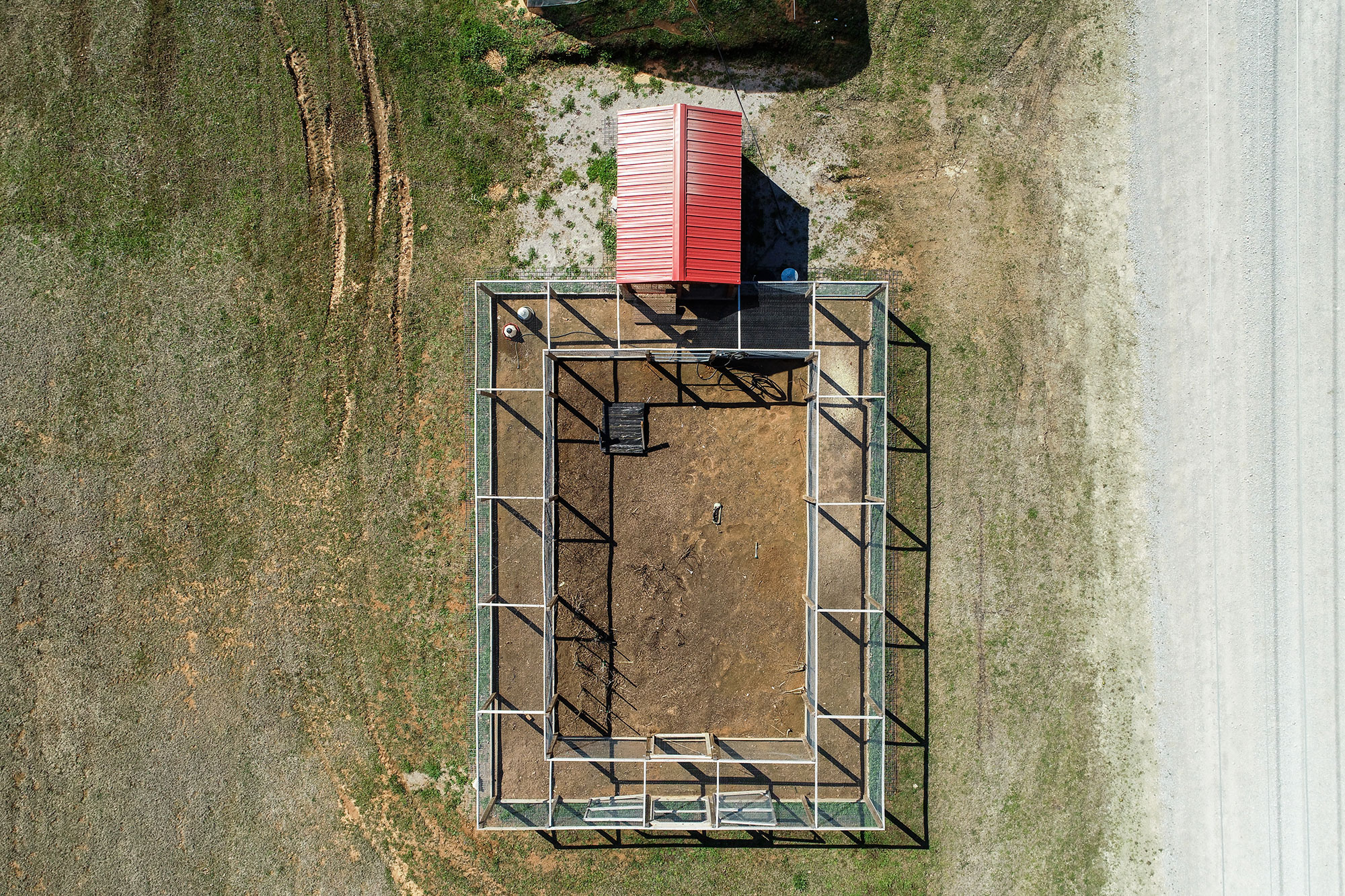 Chicken Moat viewed from overhead