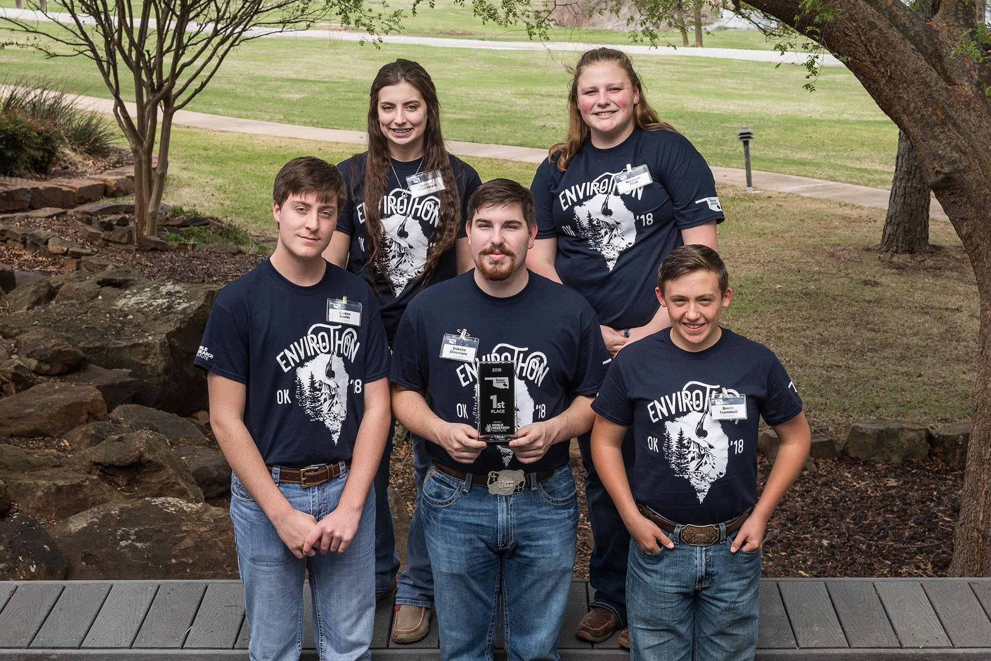 Ninnekah High School Wins 2018 Oklahoma Envirothon