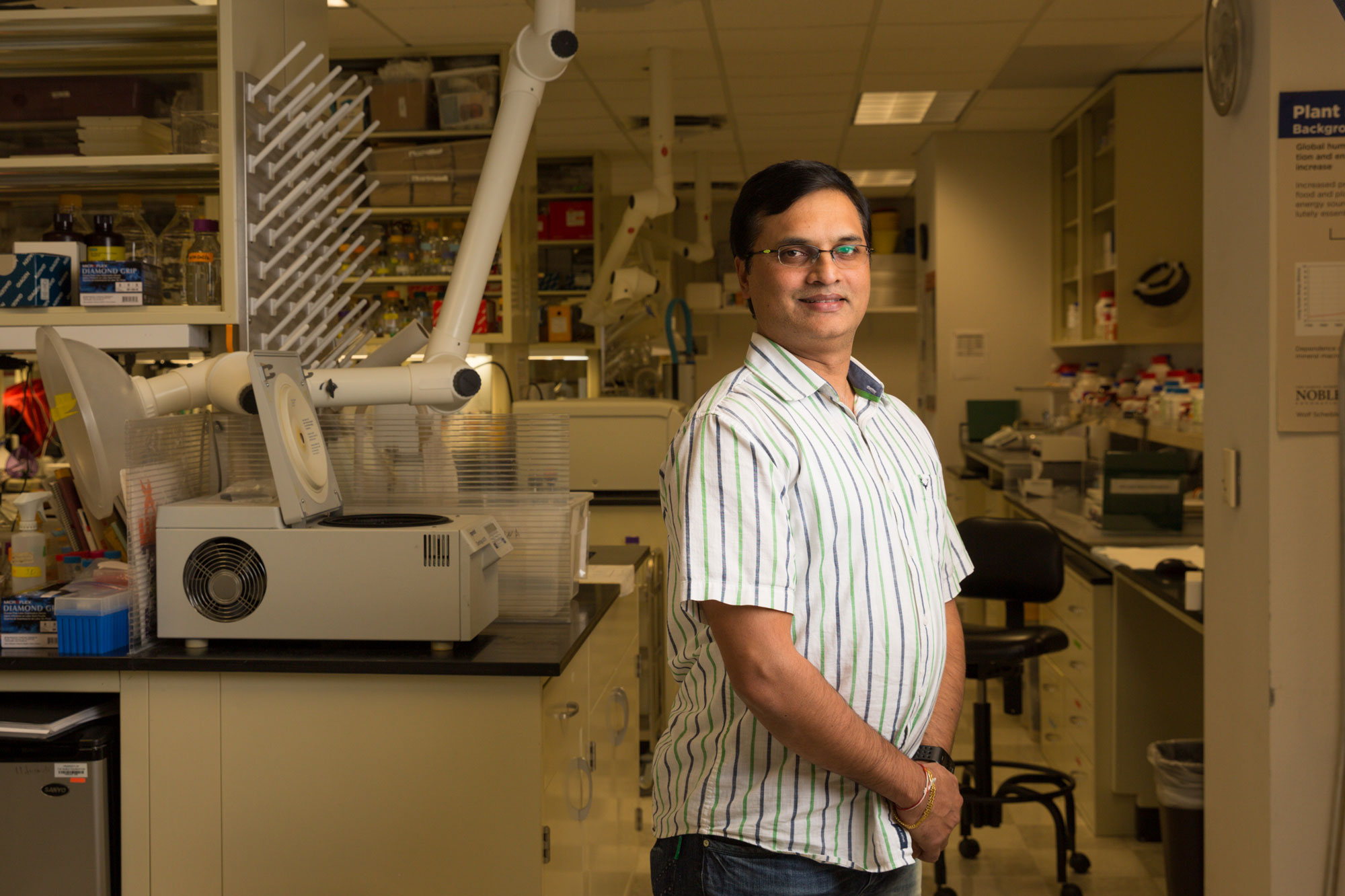 Kiran Mysore, Ph.D., professor and principal investigator